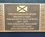 Surgeons' Hall Riot Plaque